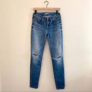 Levi's Made & Crafted Empire Skinny Crop Ripped